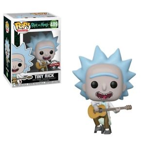 FUNKO POP - RICK AND MORTY - 489 TINY RICK