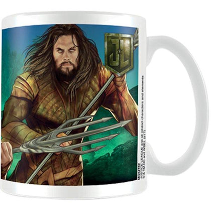 Tazza - Aquaman - Dc Comics - Justice League Movie - Aquaman Action