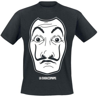 T-SHIRT - LA CASA DE PAPEL - WHITE MASK