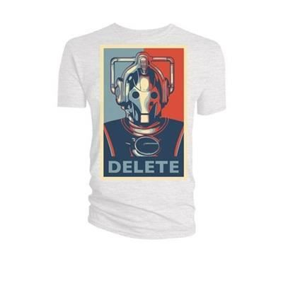 T-Shirt  - Doctor Who - Cyberman Delete