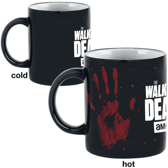 Tazza Termosensibile - Walking Dead (The) - Mani
