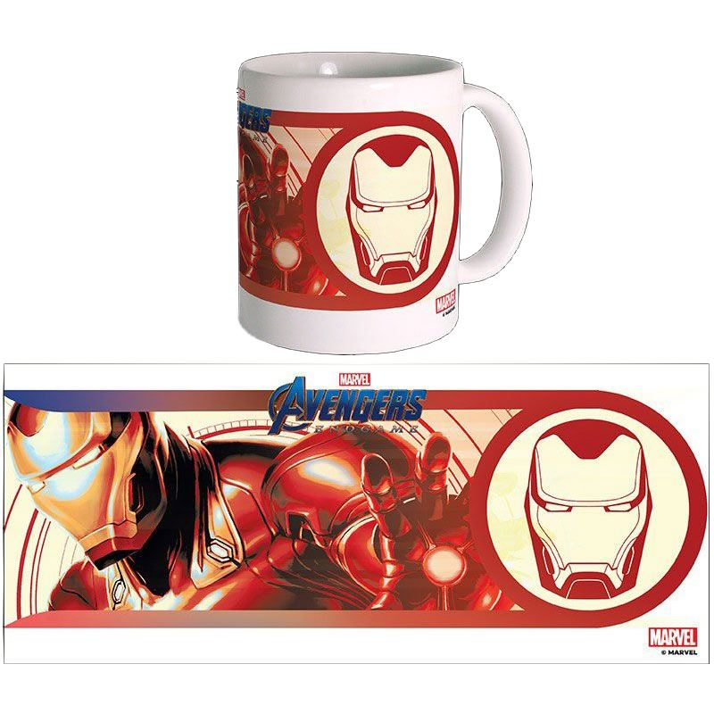 Tazza - Avengers Endgame - Iron Man