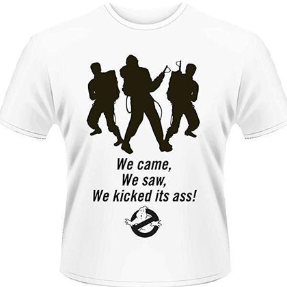 T-Shirt - Ghostbusters - We Came- We Saw