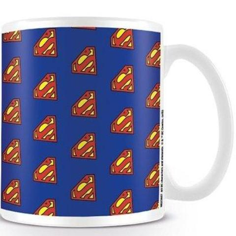 Tazza - Superman - Logo Pattern