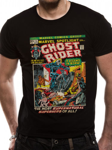 T-shirt - Marvel - Ghostrider Comic Cover
