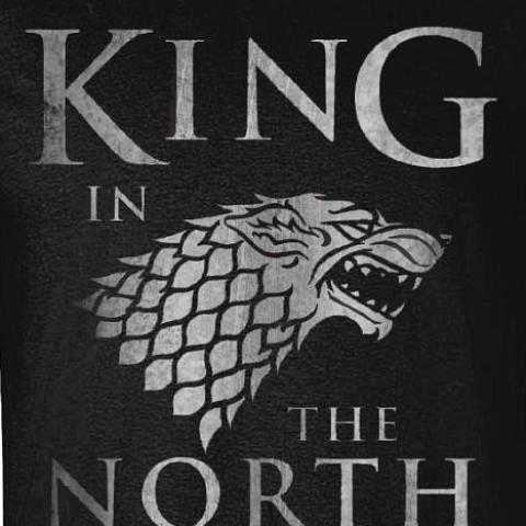 T-Shirt - Game Of Thrones - King In The North