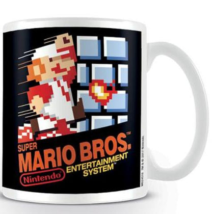 Tazza - Nintendo - Super Mario Bros - NES Cover