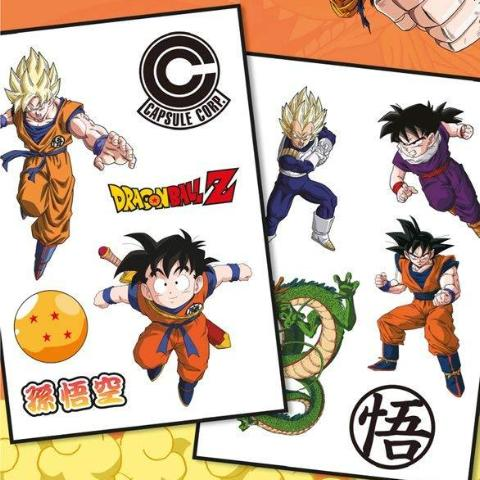 Tattoo - Dragon Ball Z - Mix (Temporary Tattoo)
