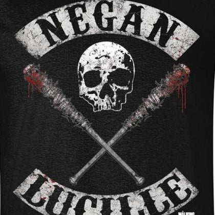 T-Shirt - Walking Dead - Negan Lucille Rocker
