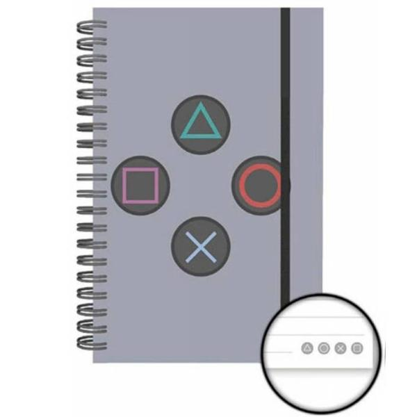 Quaderno - Playstation - Buttons (A5)