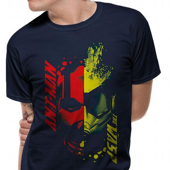T-Shirt - Ant-Man And The Wasp - Head Splat