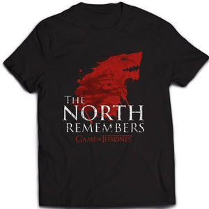 T-Shirt - Game Of Thrones - The North Remembers