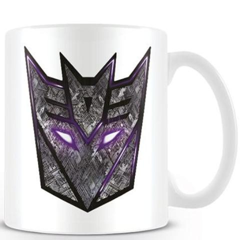 Tazza - Transformers - The Last Knight Decepticon Logo