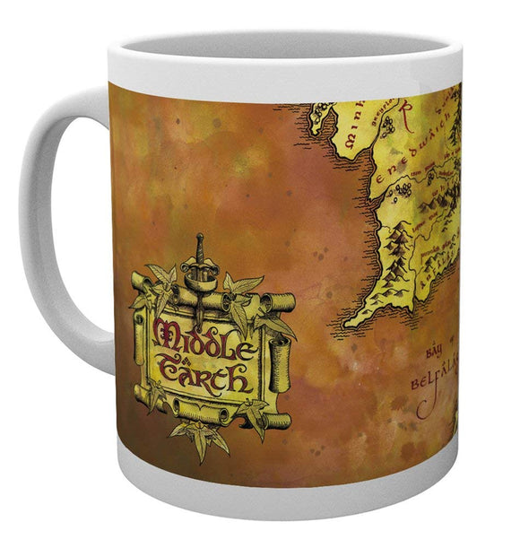 Tazza - Lord Of The Rings - Map