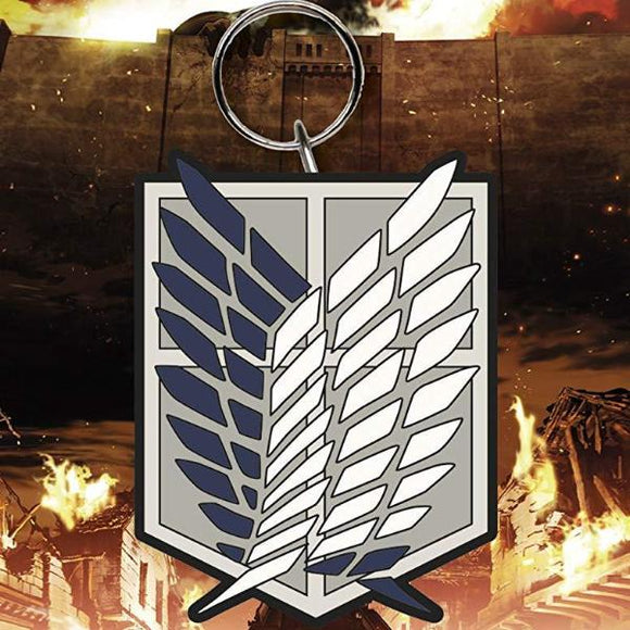 Portachiavi - Attack On Titan - Badge