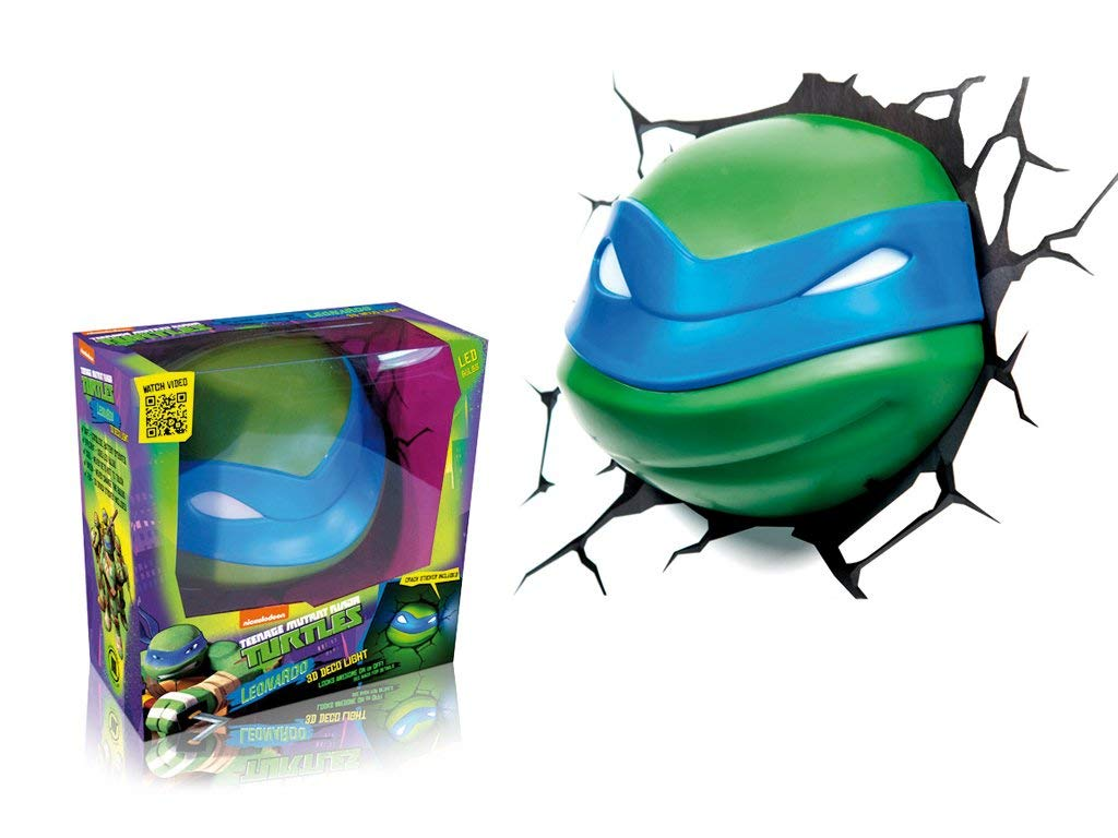 Lampada - Ninja Turtles Leonardo (Lampada Led) 3D Light Fx