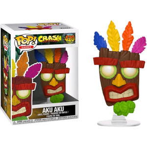 Funko Pop - CRASH BANDICOOT S2 - (420) AKU AKU