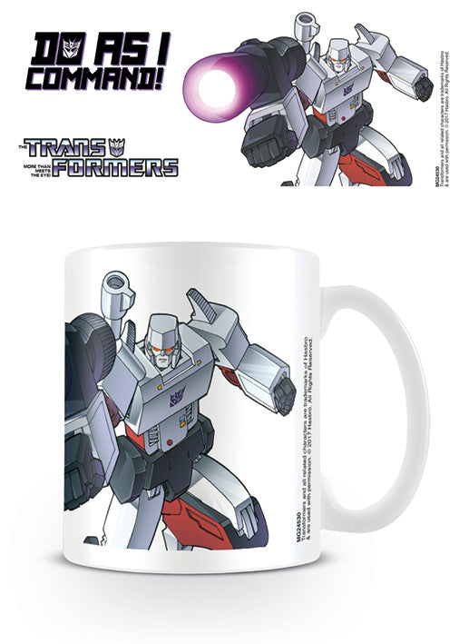 Tazza - Transformers G1 - Megatron - Do As I Command