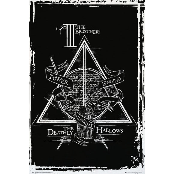 Poster - Harry Potter - Deathly Hallows Graphic