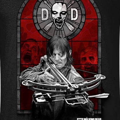 T-Shirt - Walking Dead - Dixon Stained Glass
