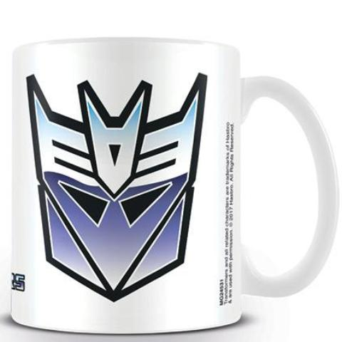 Tazza -Transformers - G1 - Decepticon Symbol