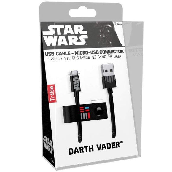 Cavo USB - Tribe - Star Wars - Darth Vader (Android)