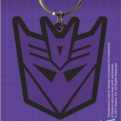 Portachiavi - Transformers - G1 - Decepticon Shield