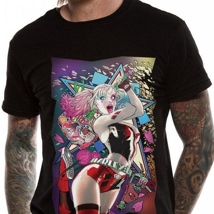 T-Shirt - Batman - Harley Quinn - Smashing