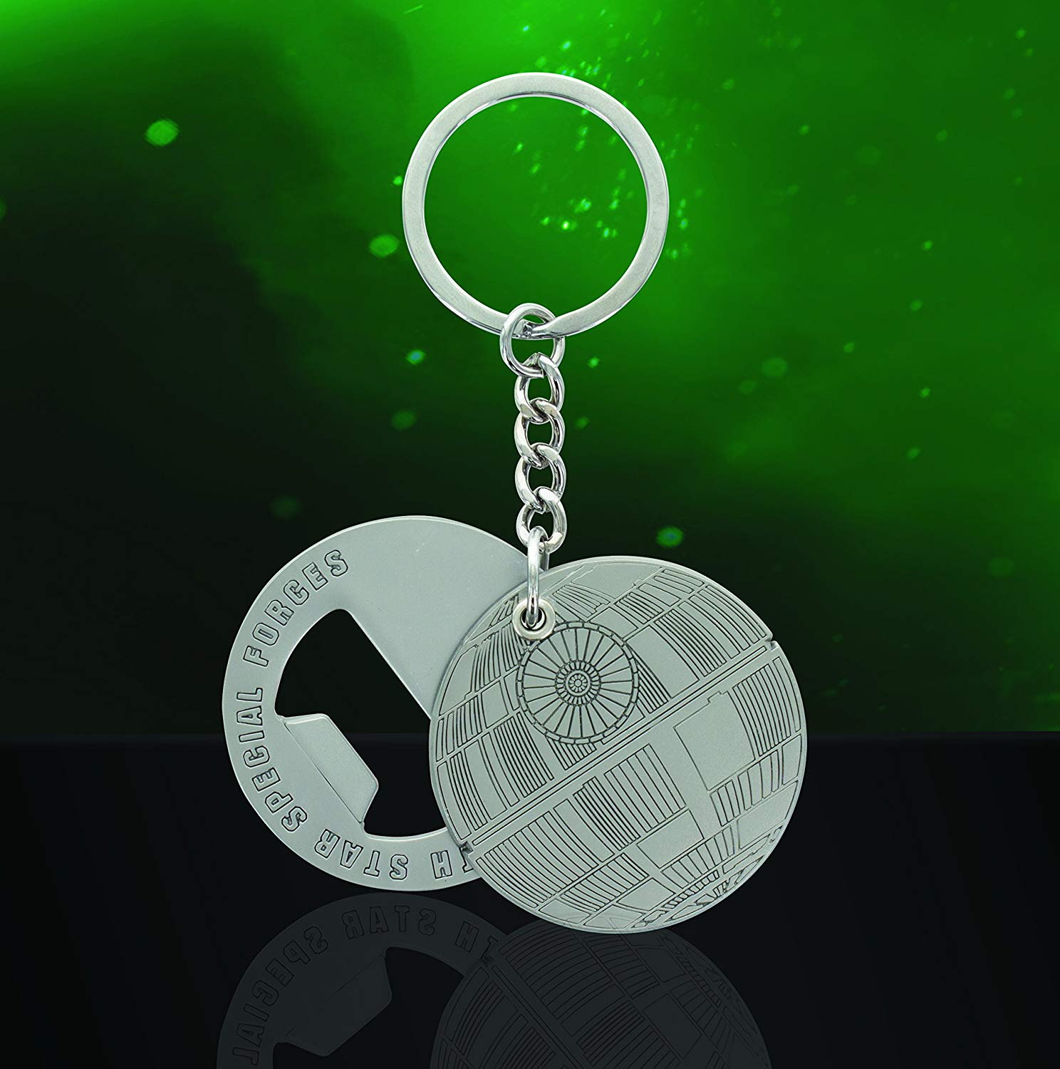 Portachiavi - Apribottiglie - Star Wars - Rogue One - Death Star