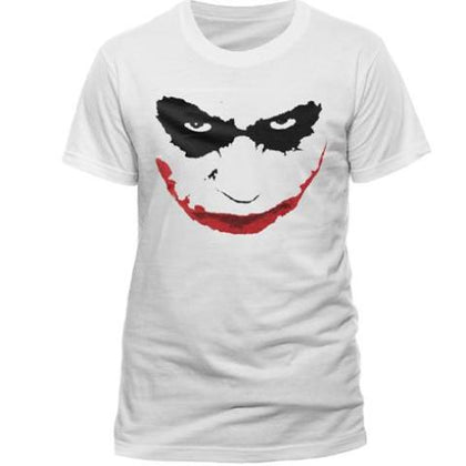 T-Shirt - Batman - Joker Smile Outline