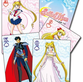 Carte - Sailor Moon - Group Playing Cards