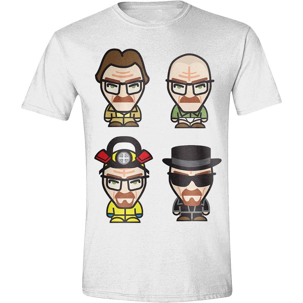 T-Shirt - Breaking Bad -  Heisenberg Pop Icon White