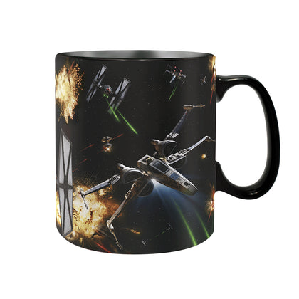 Tazza Termosensibile - Star Wars - Space Battle (460 Ml)
