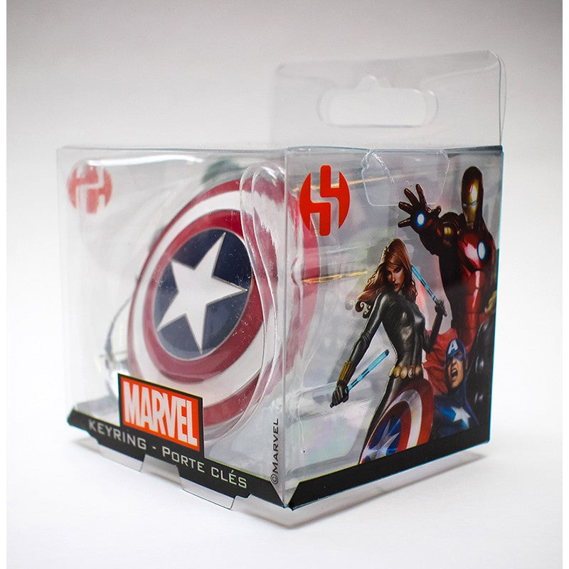 Portachiavi - Marvel - Shield - Captain America