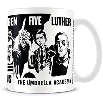 Tazza - Umbrella Academy - Sketch