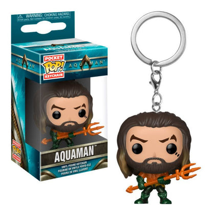 PORTACHIAVI - AQUAMAN - FUNKO POP - AQUAMAN