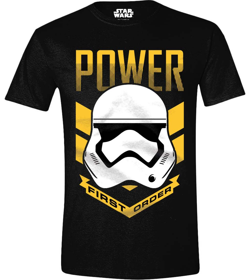 T-Shirt - Star Wars - The Force Awakens - Power Black