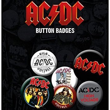 Spille - Ac/Dc - Mix (Badge Pack)