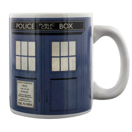 Tazza - Doctor Who - 50th Tardis