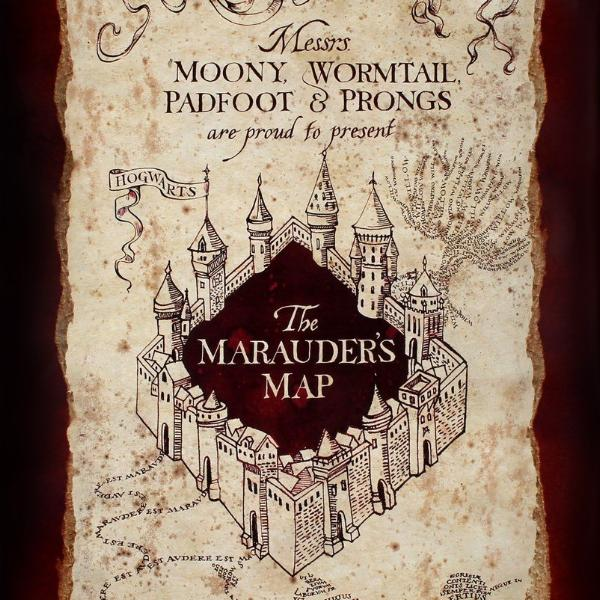 Poster - Harry Potter - Marauders Map
