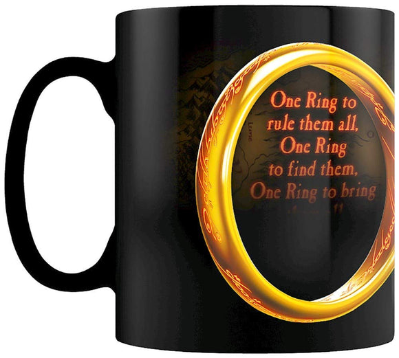Tazza Termosensibile - Lord Of The Rings - One Ring