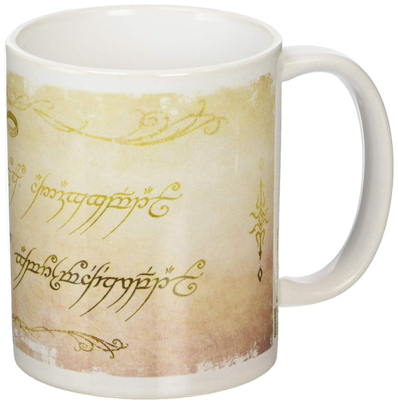 Tazza - Lord Of The Rings - Ring Inscription
