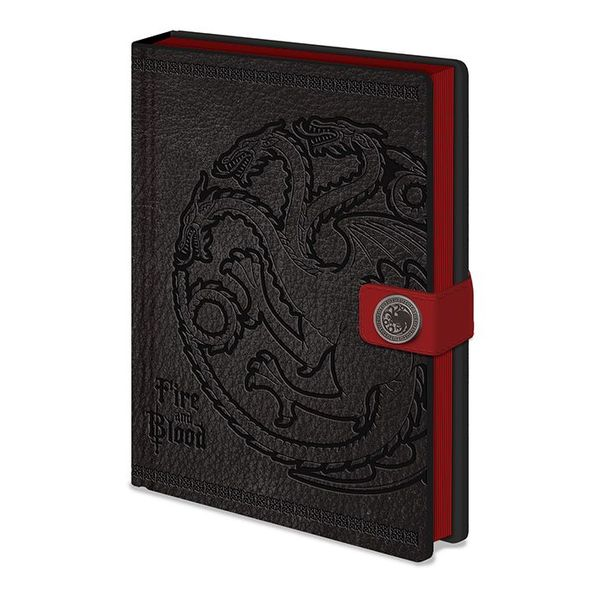 Quaderno - Game of Thrones - Targaryen (A5)