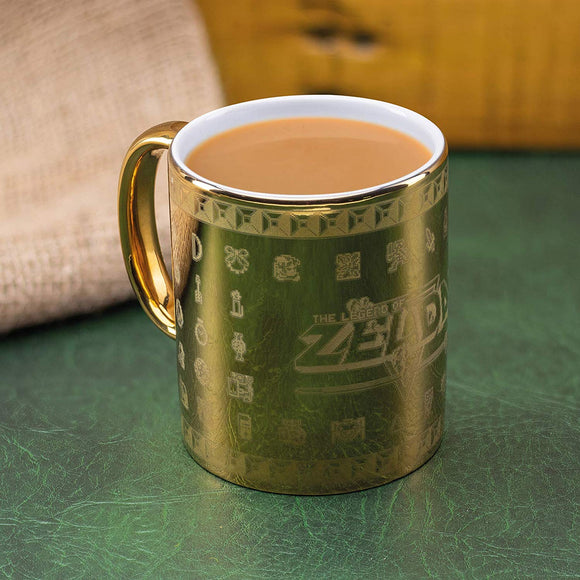Tazza - Nintendo -  The Legend Of Zelda Glossary Mug