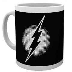 Tazza - Flash - Dc Comics - Flash Monotone Logo