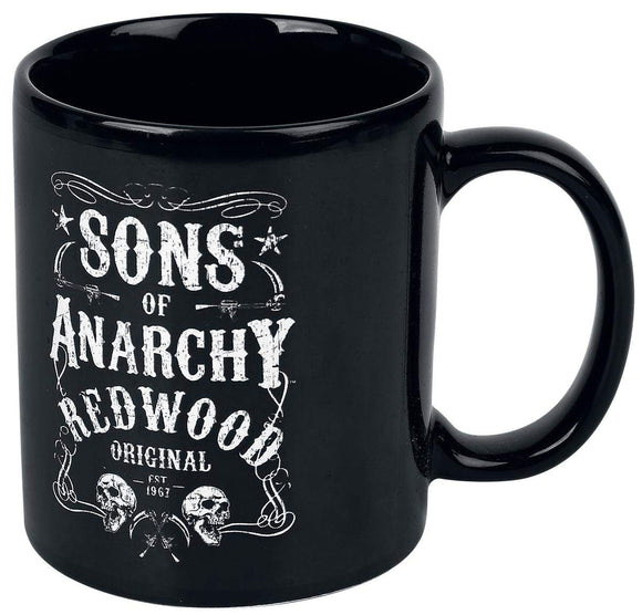 Tazza - Sons Of Anarchy - Logo Black