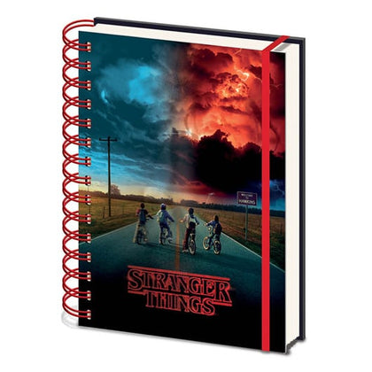 Quaderno - Stranger Things - (Mind Flayer) 3D Notebook