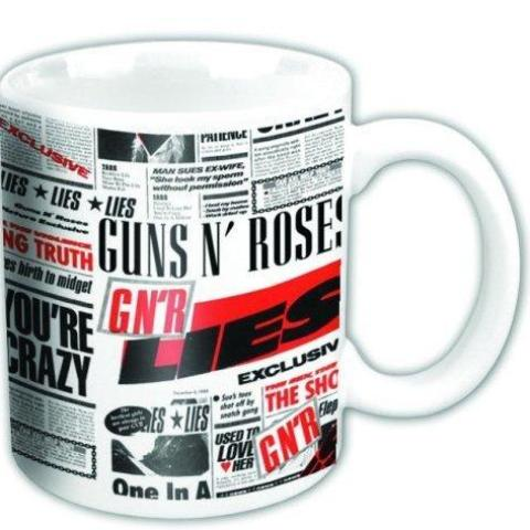 Tazza - Guns N' Roses - Lies