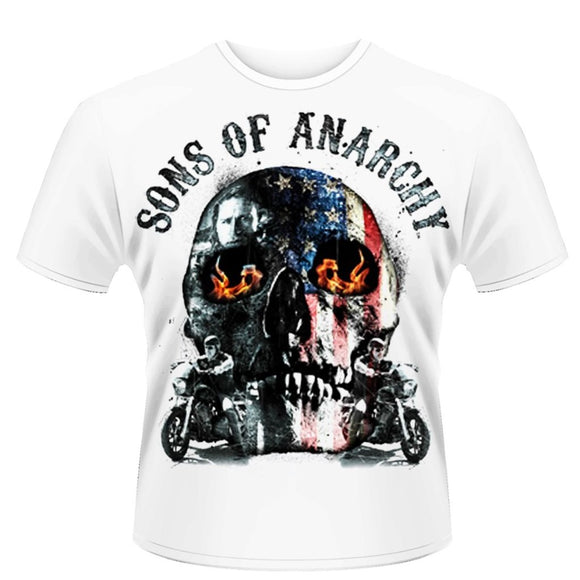 T-Shirt - Sons Of Anarchy - Flame Skull