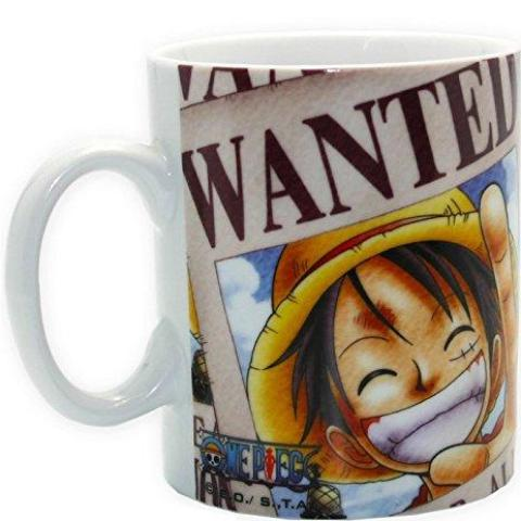 Tazza - One Piece - Luffy Wanted